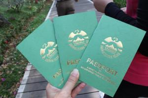 Sarawak Cultural Village passport