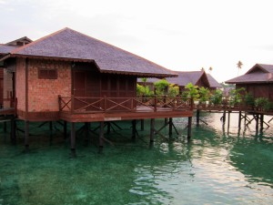 Sipadan Water Village chalets