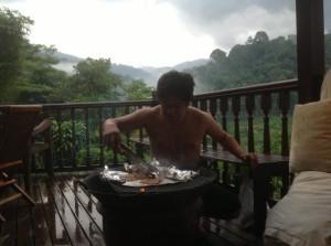 The Dusun BBQ facility