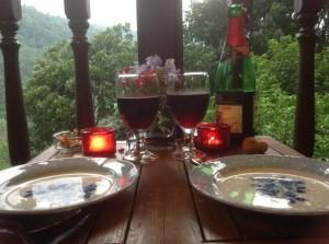 The Dusun BBQ dinner
