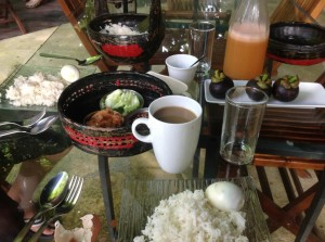 The Dusun breakfast