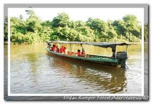 Boat ride from Kampung peta