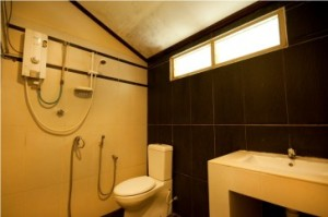 Redang Mutiara Resort Family suite bathroom