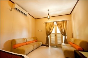 Redang Mutiara Resort Family suite living hall