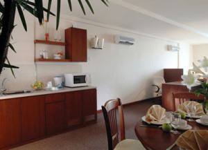 Kitchenette & Dining Area