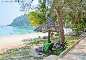 Perhentian island resort beach