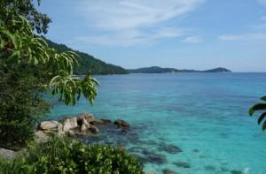Perhentian island resort sea side