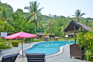 Perhentian island resort swimming pool