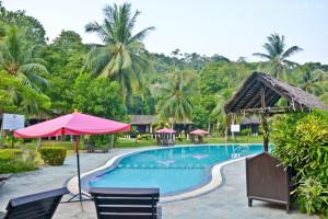 Perhentian island resort swimming pool