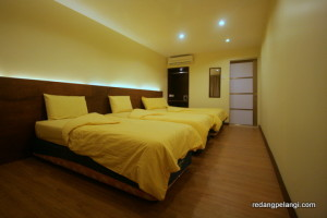 Redang Pelangi Resort Quad room