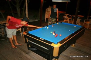 Redang Pelangi Resort pool table