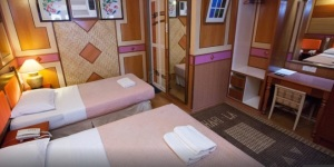 Shari La Island Resort Deluxe Chalet Interior 2