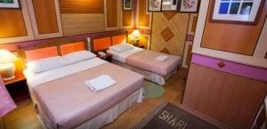 Shari La Island Resort Deluxe Chalet Interior 3