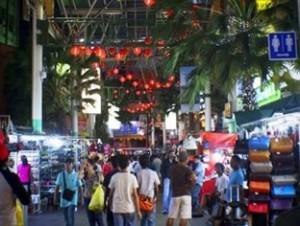 The Bustling Petaling Street