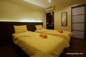 Redang Pelangi Resort Twin room