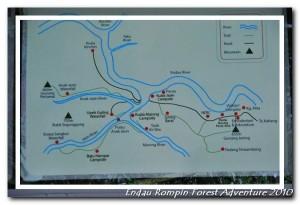 endau rompin national park map