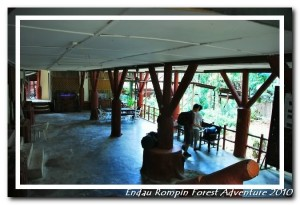 endau rompin national park office ground floor