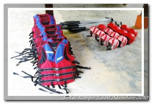 endau rompin national park rafting gear