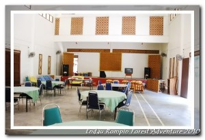 endau rompin national park restaurant hall