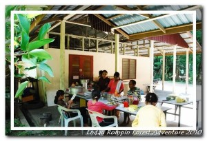 endau rompin national park restaurant kitchen