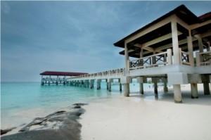 mutiara beach resort jetty