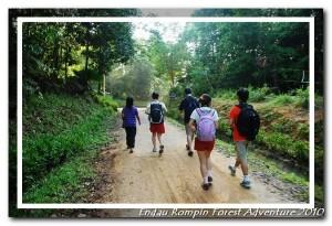 walk into endau rompin national park