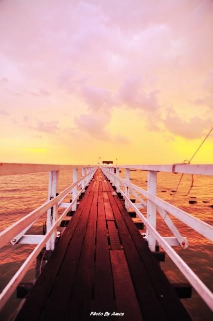 Pulau Sibu sunset