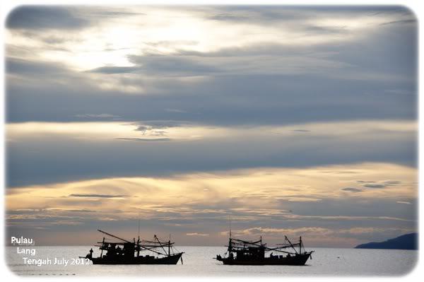 lang tengah sunset