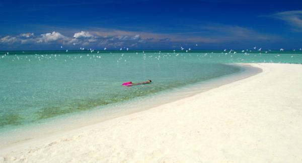 Mabul Island Beach