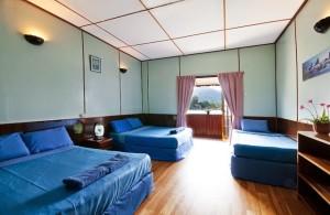 Redang Reef Resort Quad Sharing Room