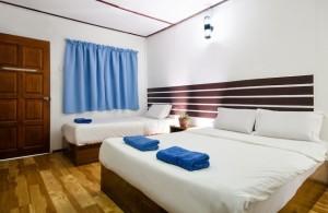 Redang Reef Resort Triple Sharing Room