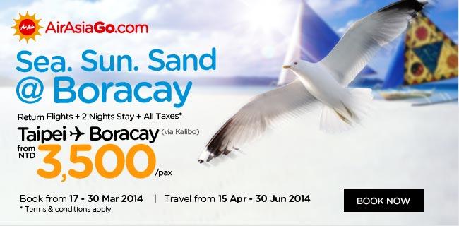 AirAsia Sea. Sun. Sand @ Boracay Promotion