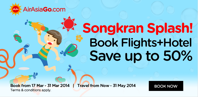 AirAsia Songkran Splash Promotion