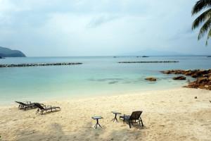 Pulau Sibu beach