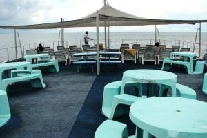 Pulau Payar Langkawi Coral Platform dining area