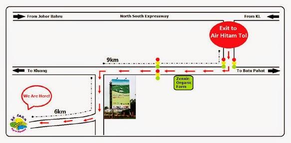 UK farm Johor Map