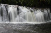 Maga Waterfall of Long Pasia , Sipitang
