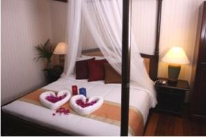 sibu island resort honeymoon suite bedroom