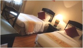sibu island resort layang layang suite twin bed