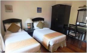 sibu island resort raja udang suite twin bed