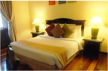 sibu island resort serindit suite king bed