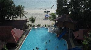 Malibest pool view