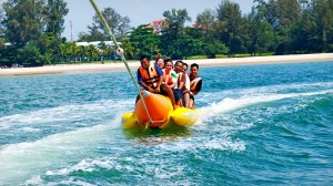 langkawi banana boat photo
