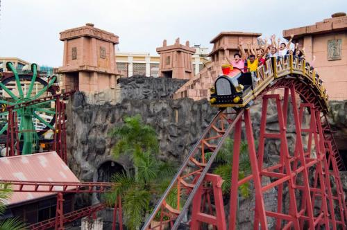 Lost City of Gold Scream Coaster