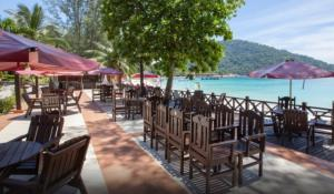 Perhentian island resort beach kiosk