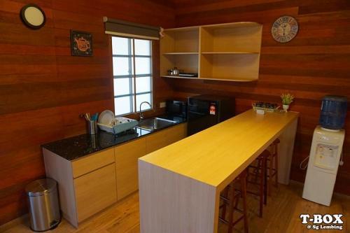 T Box Wooden Cottage