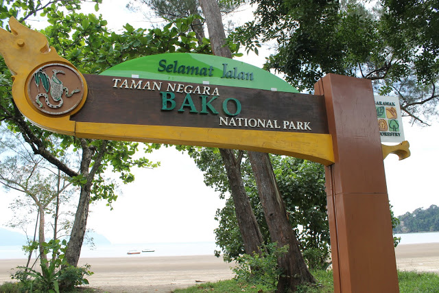 Entrance to Bako National Park