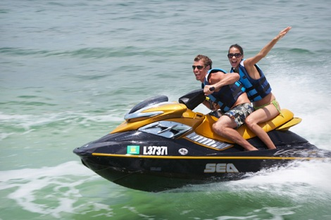 jet skiing in port dickson