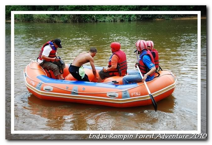 endau rompin national park river rafting