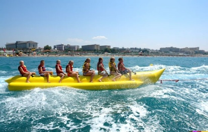 penang banana boat riding